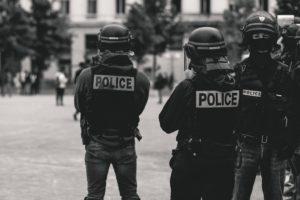 警察の写真