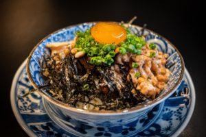 納豆ご飯の写真