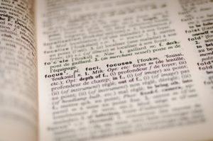 辞典の写真